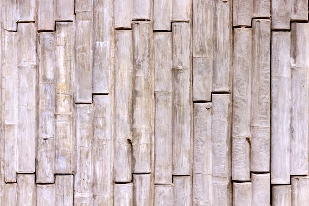Stile di bambù di struttura concreta