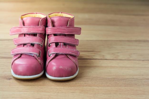 Stivale bambina rosa
