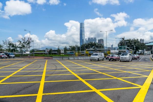 Strade e taxi in hong kong