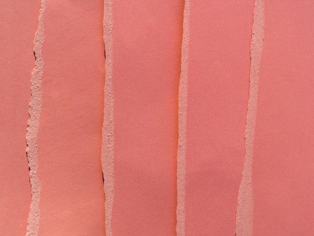 Strappi di carta colorata verticale