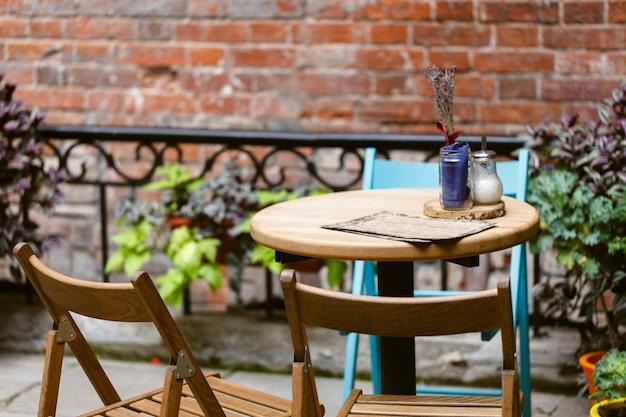 Street cafe in europa