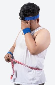 Stress giovane e grasso