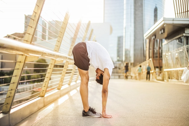 Stretching in città