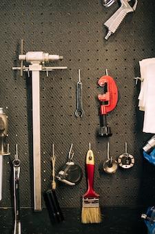 Strumenti di un negozio di riparazione