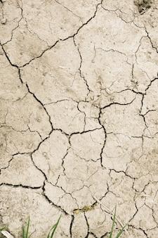 Struttura asciutta del fondo del deserto del fango