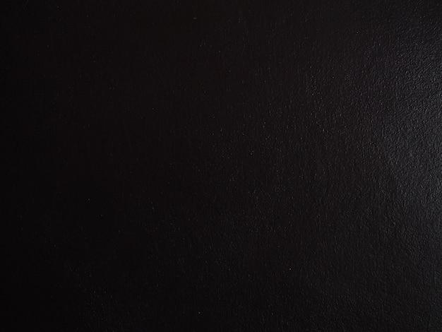Struttura astratta del fondo con colore scuro della parete nera del cemento
