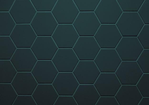 Struttura astratta del fondo del modello di esagono delle mattonelle
