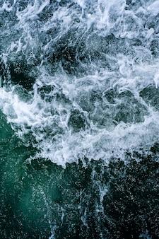 Struttura astratta delle onde di oceano dell'acqua.