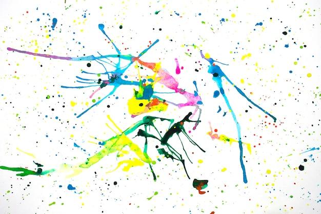 Struttura astratta variopinta dell'acquerello e struttura creativa moderna dell'acquerello