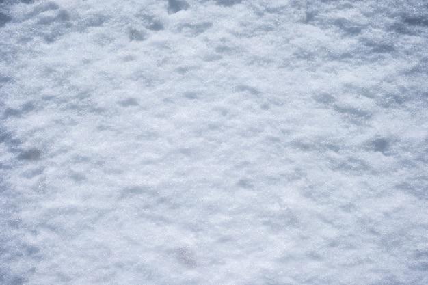 Struttura bianca come la neve del primo piano per fondo nell'inverno