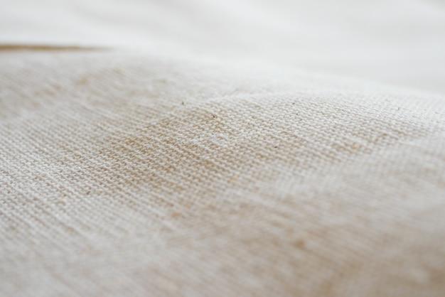 Struttura bianca del fondo del panno del tessuto del calicò