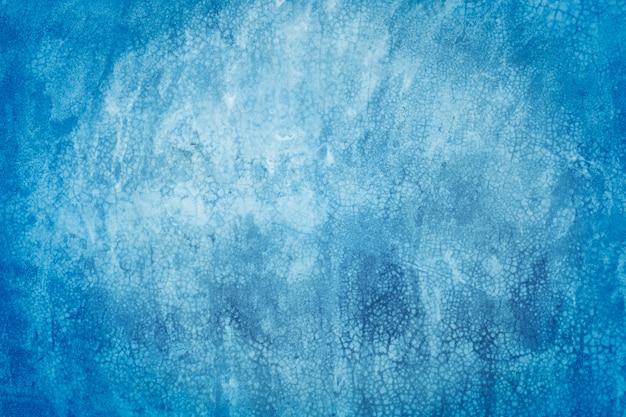 Struttura blu e fondo del cemento dell'annata