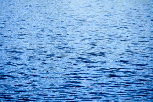 Struttura blu scuro astratta del fondo dell'acqua dell'onda della cascata