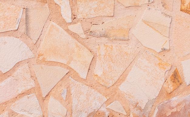 Struttura calda del calcare o fondo di pietra.