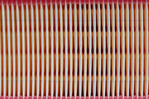 Struttura del fondo del filtro per auto.