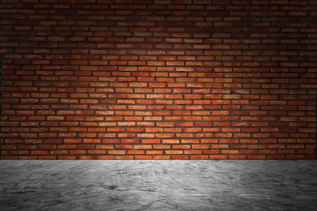 Struttura del fondo del pavimento del cemento o del muro di cemento