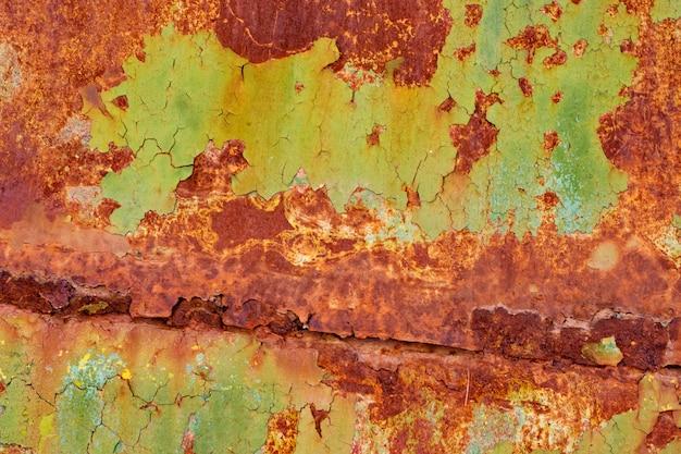 Struttura del fondo della parete del ferro dipinto annata