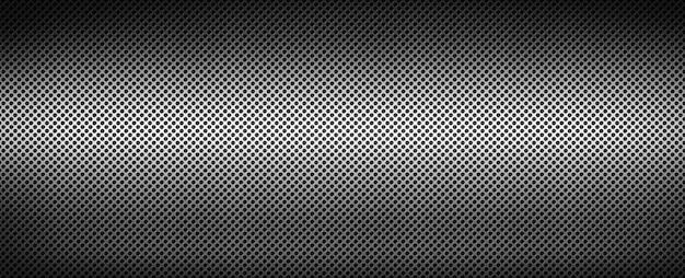 Struttura del fondo di griglia del metallo spazzolata argento