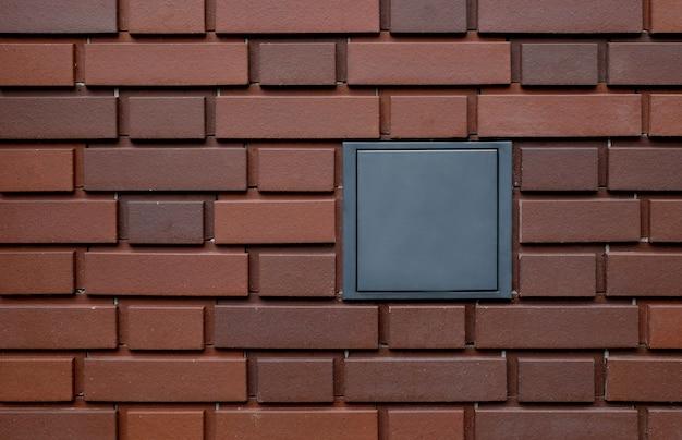Struttura del mattone della parete con spazio