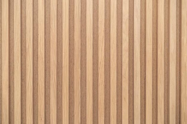 Struttura del modello di parete listelli di legno sfondo di decorazione di interior design