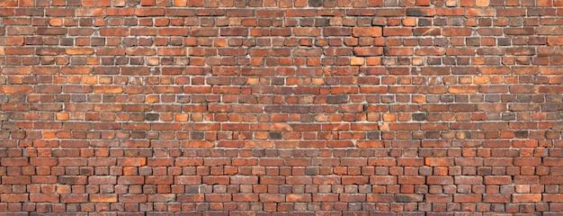 Struttura del muro di mattoni, fondo di vecchia muratura.