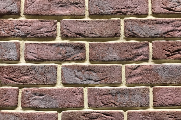 Struttura del muro di mattoni marrone. fondo di grunge di bacckround di interior design