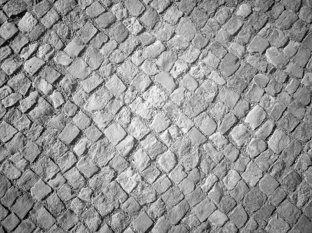 Struttura del pavimento di pietre quadrate