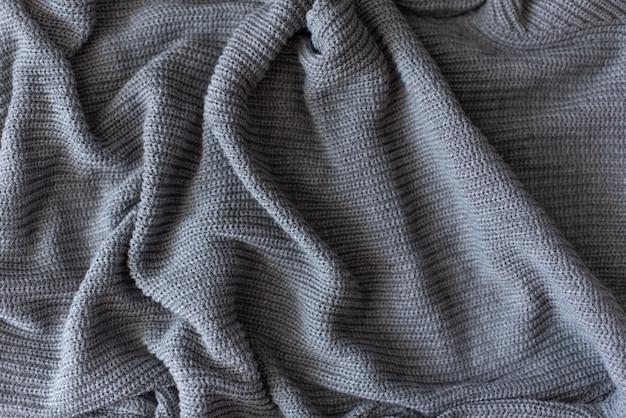 Struttura del tessuto di lana a maglia per carta da parati e uno sfondo astratto