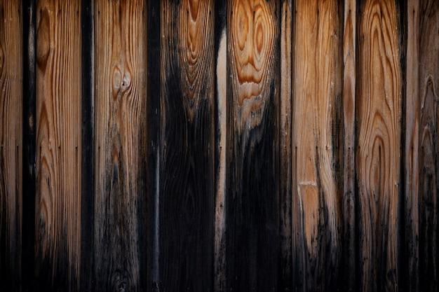 Struttura del vecchio fondo marrone del bordo di legno