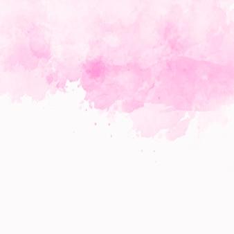 Struttura dell'acquerello rosa con copyspace nella parte inferiore