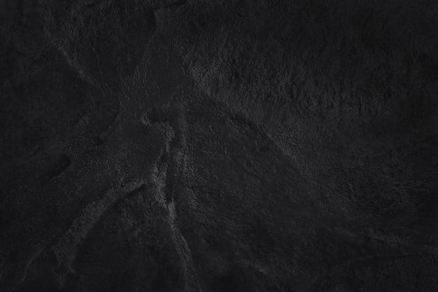 Struttura dell'ardesia nera grigio scuro, fondo della parete di pietra nera naturale.