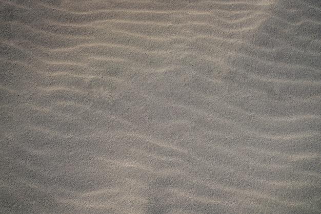 Struttura della macro del dettaglio della sabbia della spiaggia di cancun
