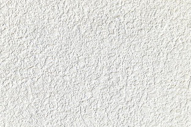 Struttura della parete intonacata cemento bianco grezzo