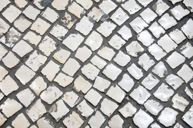 Struttura della pavimentazione in pietra