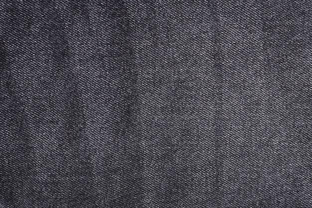 Struttura della priorità bassa dei jeans di denim nero