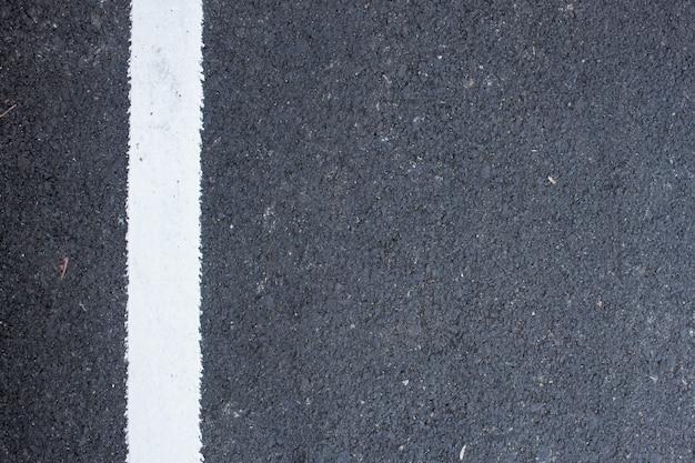 Struttura della strada del primo piano, vista dall'alto