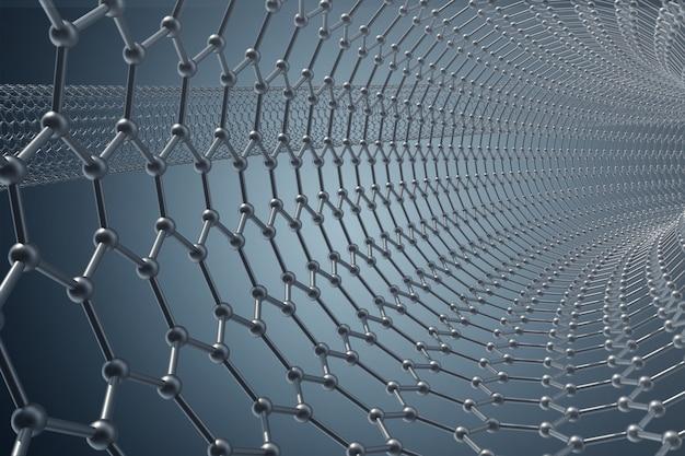 Struttura della vasca di grafene