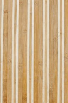 Struttura di bambù del tagliere, fondo di legno o struttura
