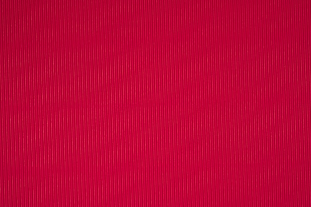 Struttura di carta ondulata rossa, utilizzare per lo sfondo.