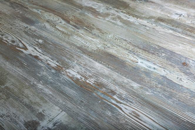 Struttura di legno bianca d'annata della plancia per fondo