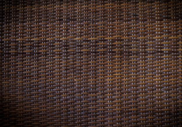 Struttura di legno di vimini marrone