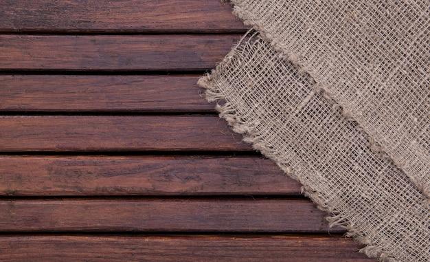 Struttura di legno e struttura della priorità bassa della tessile