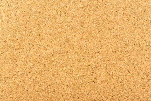 Struttura di legno giallo del bordo del sughero