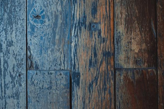 Struttura di legno marrone scuro con fondo naturale del modello a strisce