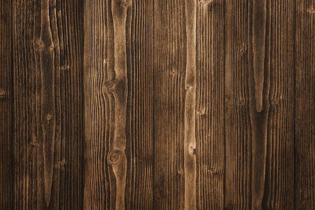Struttura di legno marrone scuro con legno a strisce naturale