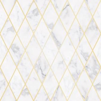 Struttura di pietra di marmo bianca di lusso senza cuciture