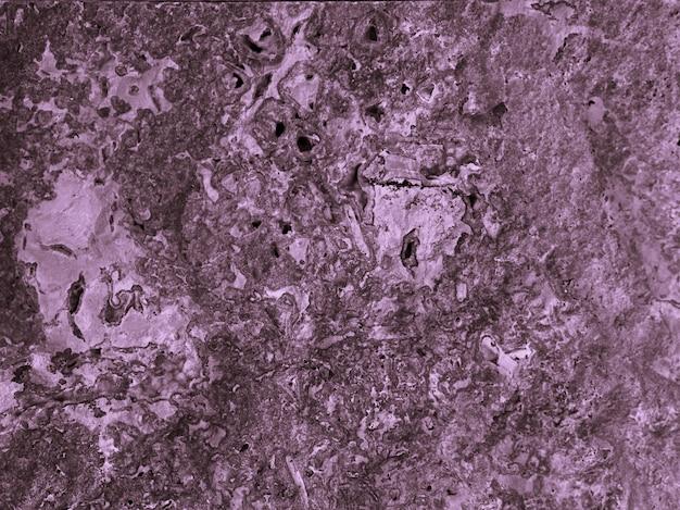 Struttura di superficie verniciata viola