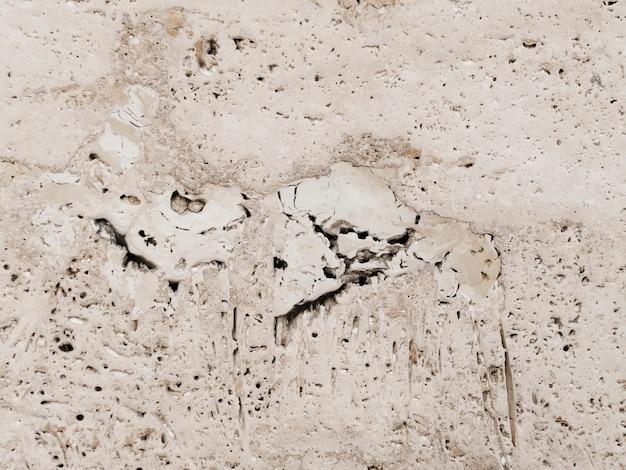 Struttura di vecchio muro di cemento grigio