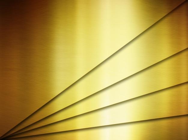 Struttura dorata astratta del metallo con il fondo di progettazione moderna