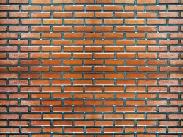 Struttura e fondo del muro di mattoni.